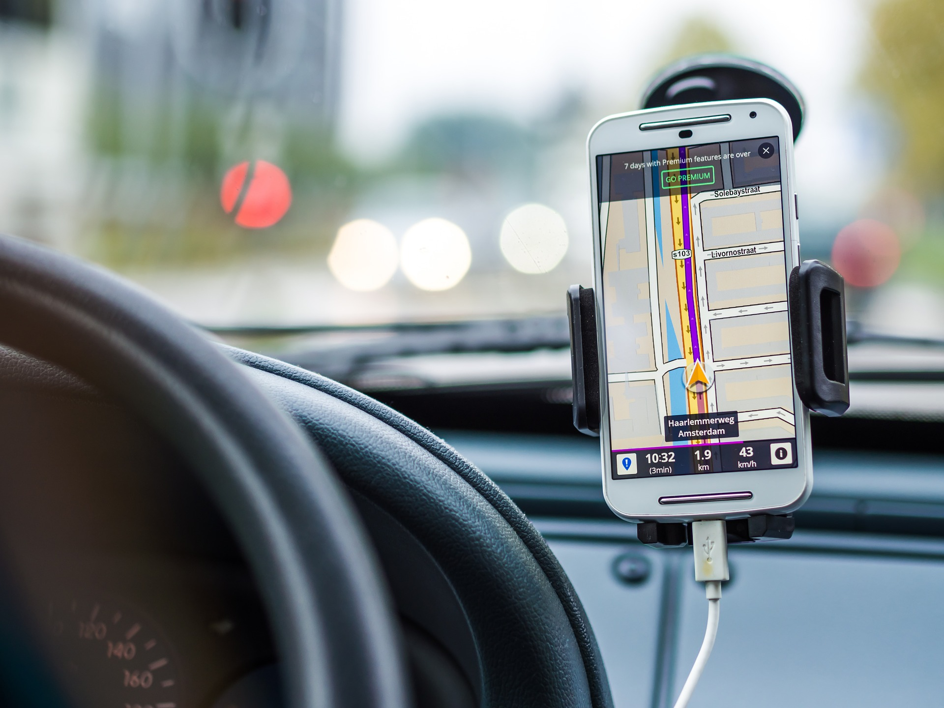 A smartphone enables better and easier navigation today