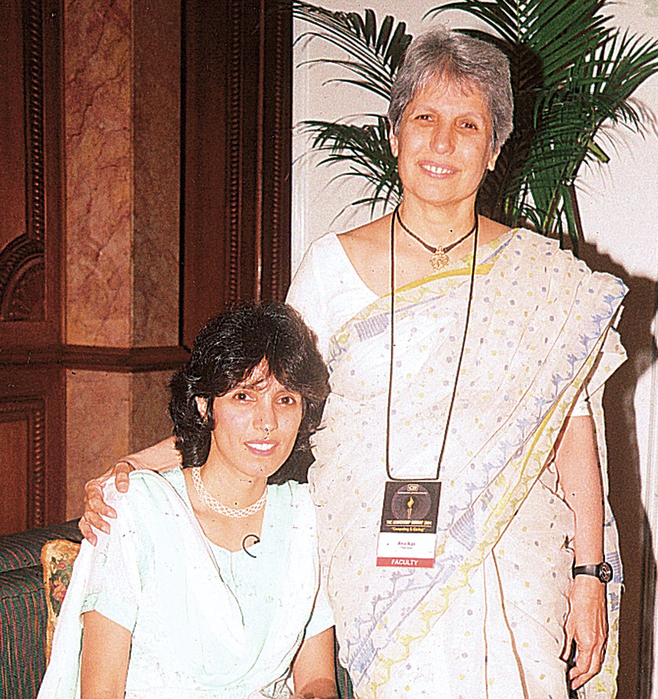 Anu Aga seen here with daughter Meher Pudumjee who currently helms the Rs 830-crore Thermax Ltd.