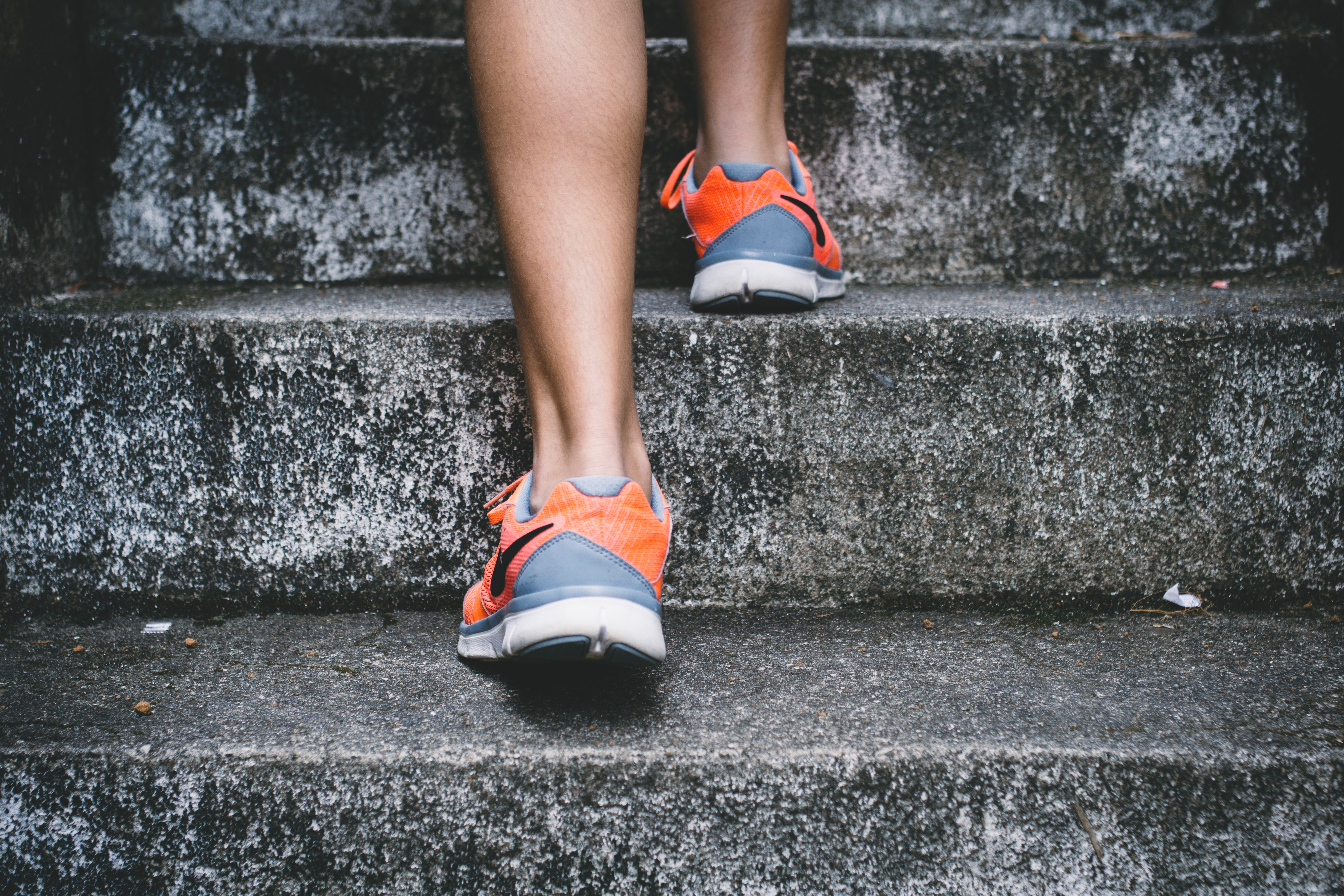 Take every opportunity to exercise. Even opting for the stairs instead of taking the elevator can make a positive impact on health.