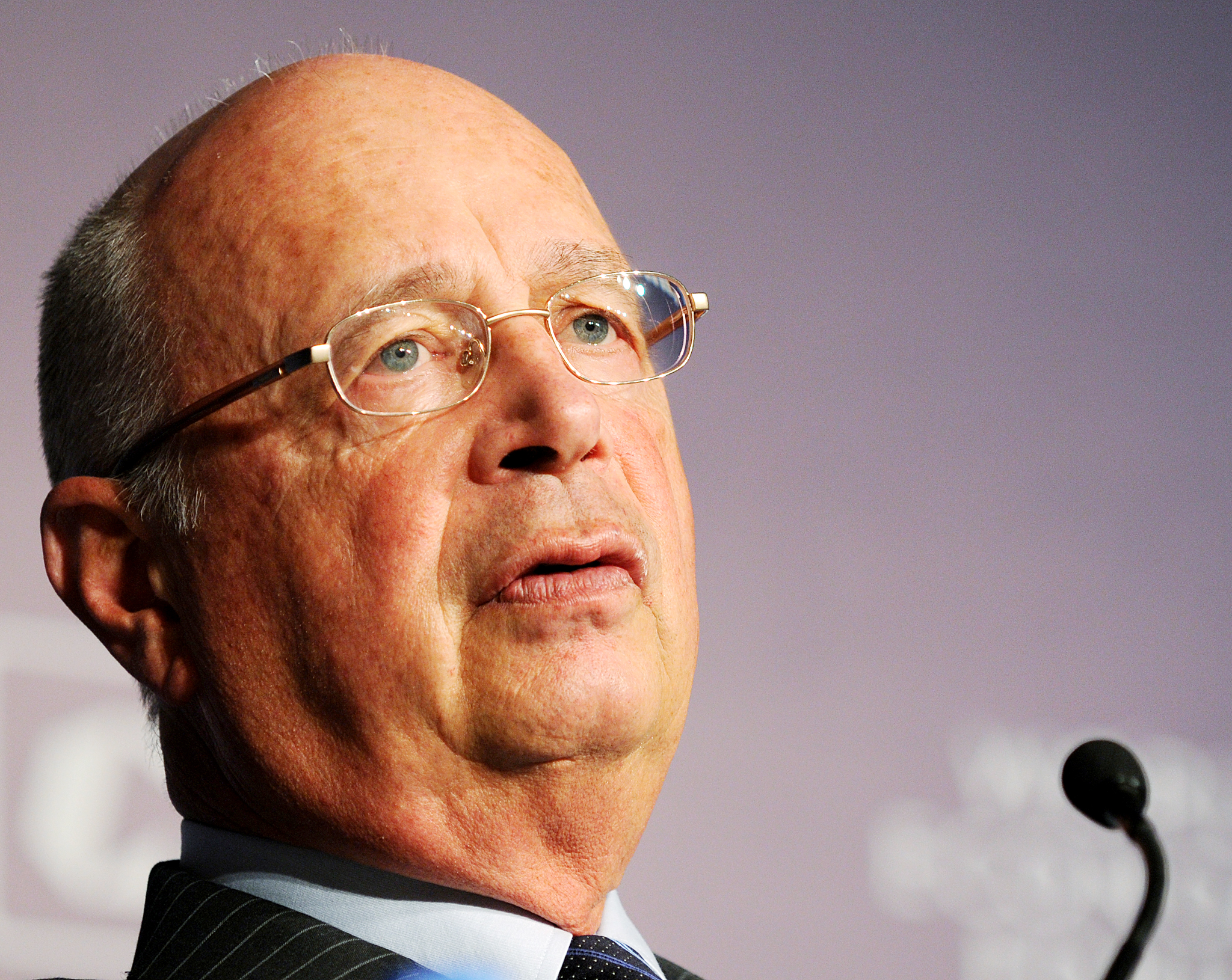 Founder and Executive Chairman of World Economic Forum Professor Klaus Schwab.
