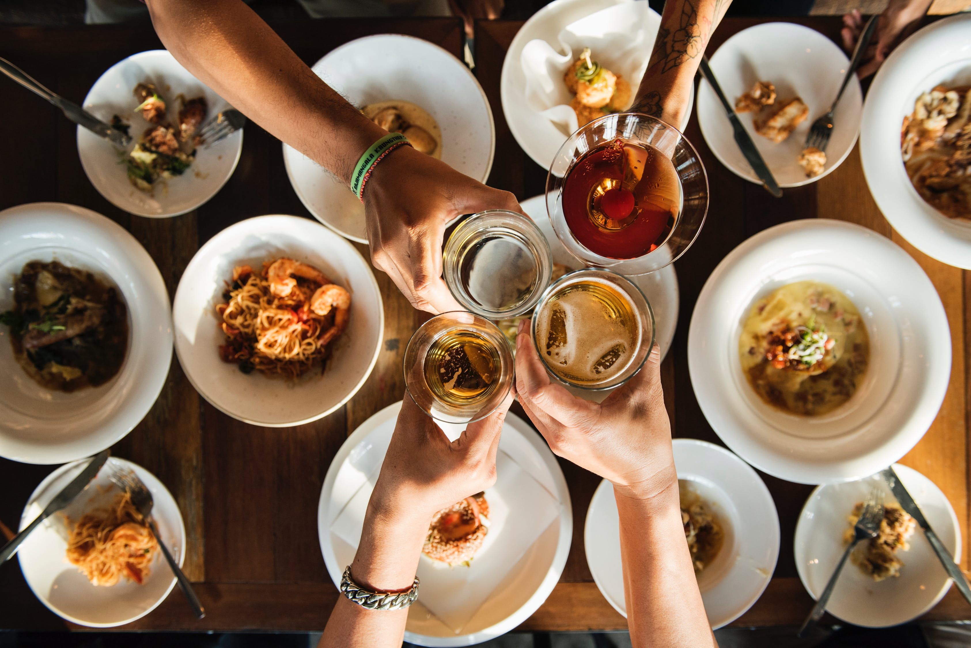 There's more than just a variety of fare at the dinner table these days, differing opinions are frequently finding a place too.