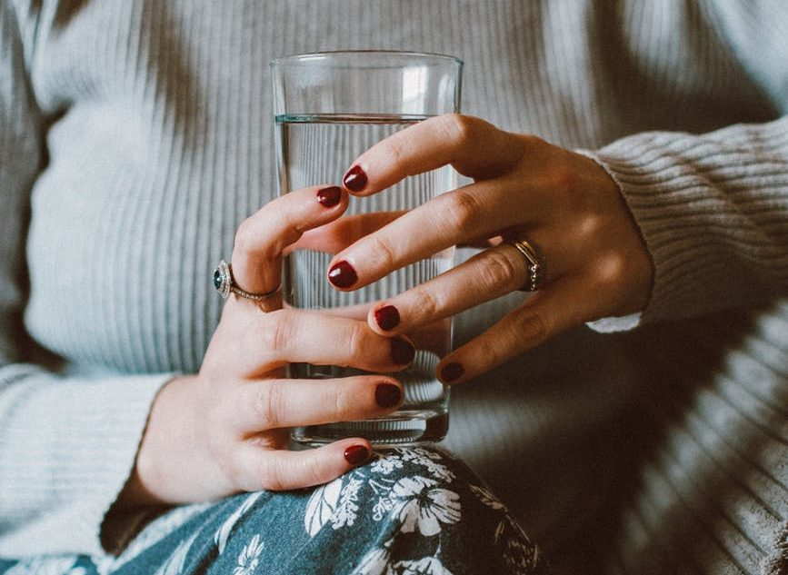 Being mindful of easy things such as having a glass of water every now and then helps this author make well-being a part of her lifestyle.