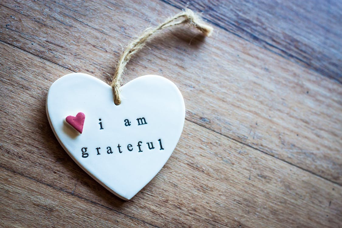 Express your gratitude to someone today, it will work towards your well-being too. Photo by Pexels