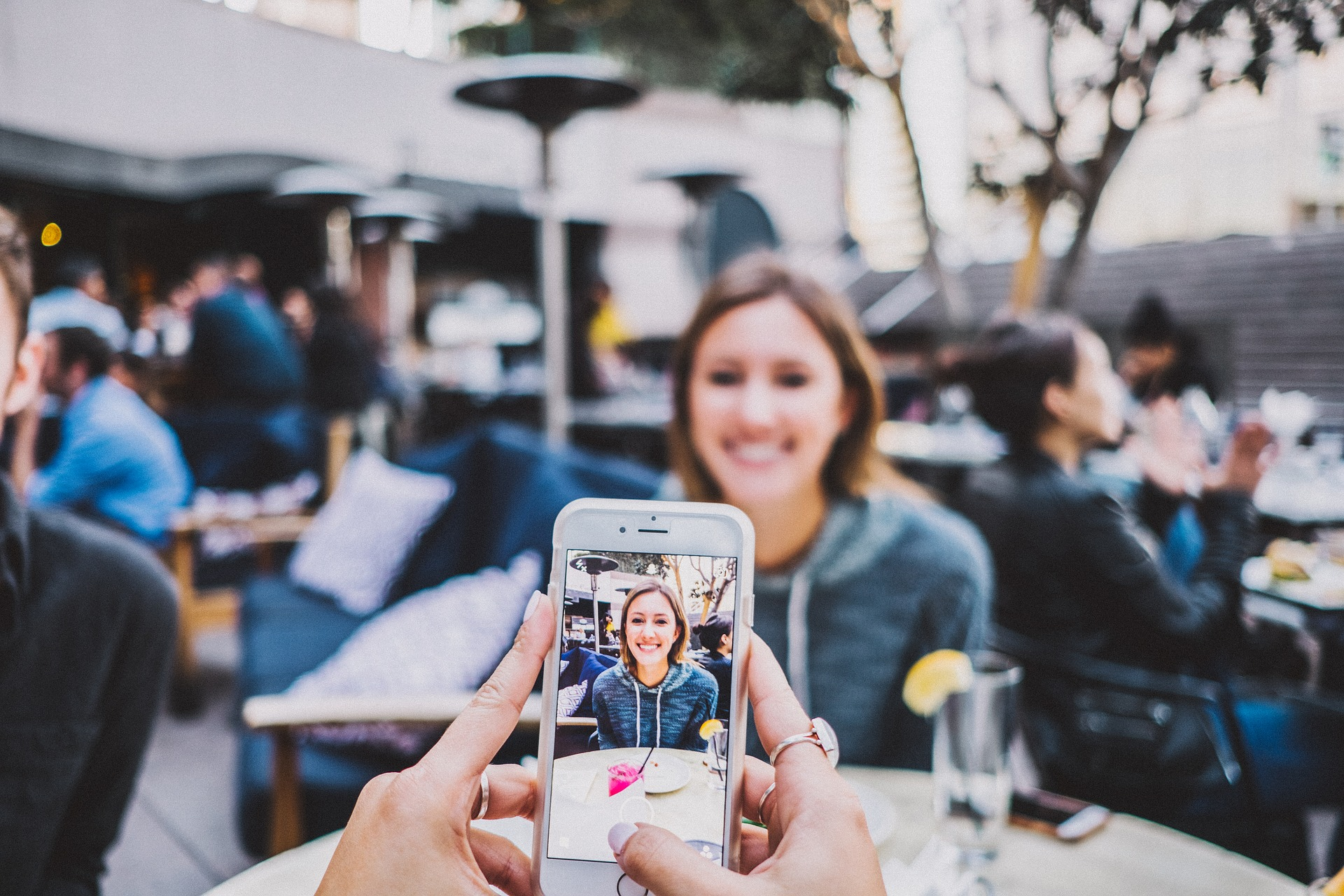 Taking selfies is alright but have you tried focussing on someone else for a change recently?