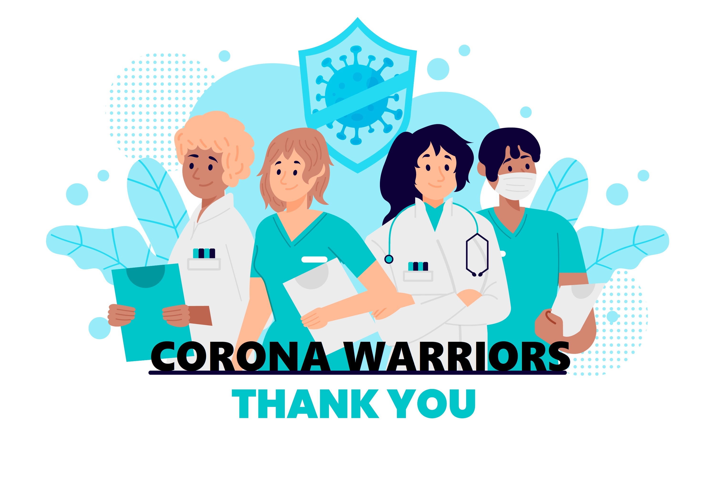 As a Corona Warrior, Your Health and Well-Being Are Key