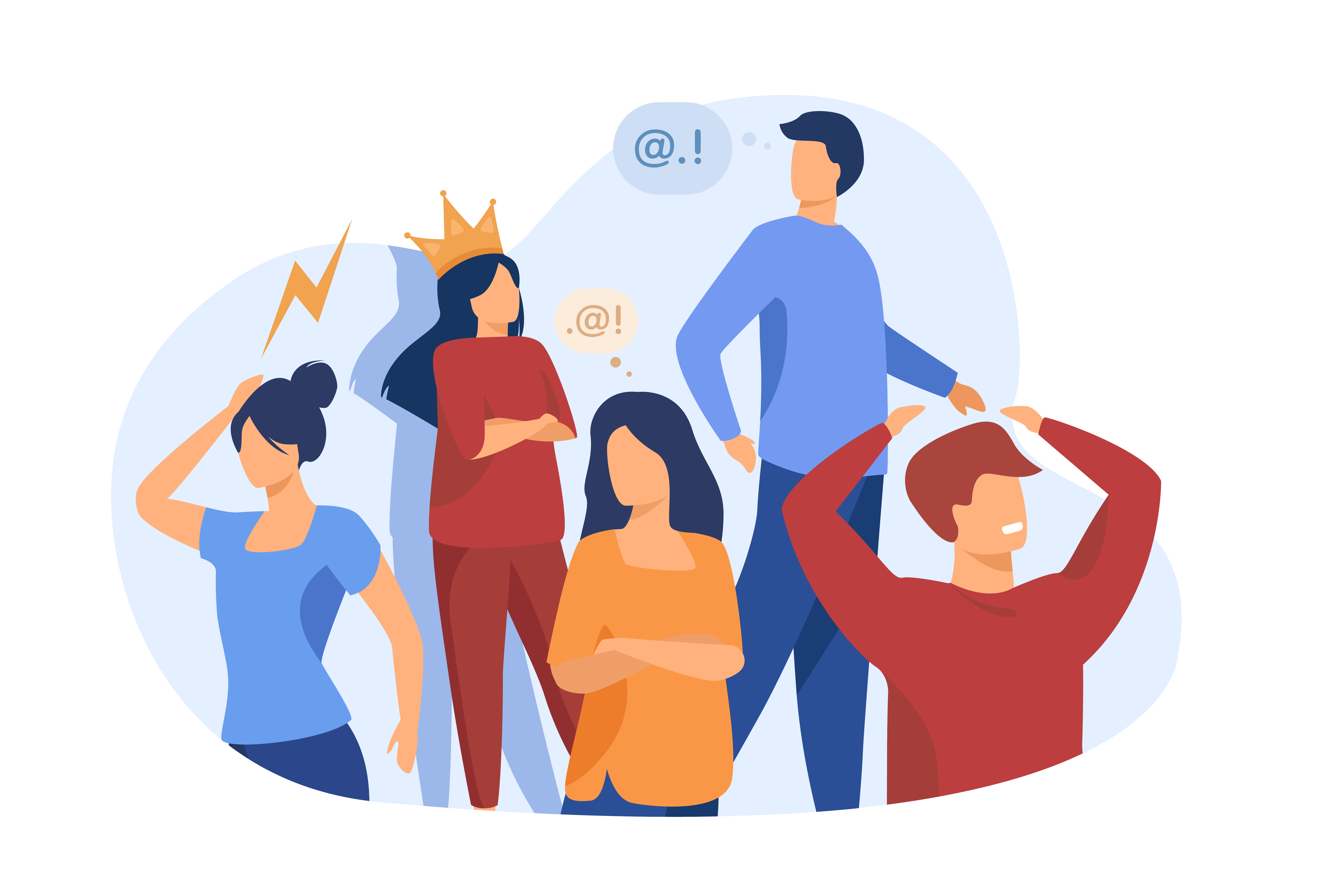 Arrogance, anger, boredom, selfishness, pride: The reasons for failed communication can be many but it is easier to change our attitude so that conflicts do not arise. Illustration by Pch.vector/ Freepik